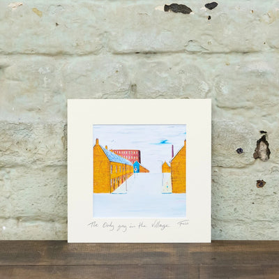 only gay in the village foss print