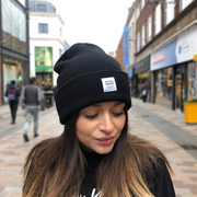 born & bred in northern ireland beanie black
