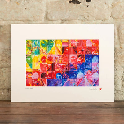 FIFTEEN HEARTS - ART PRINT
