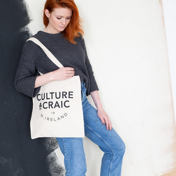 culture & craic tote bag