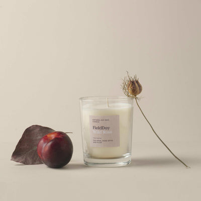 Wild Rose large candle