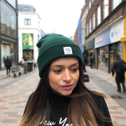 OUR SIGNATURE BEANIE - BOTTLE GREEN