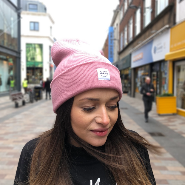 OUR SIGNATURE BEANIE - BLUSH