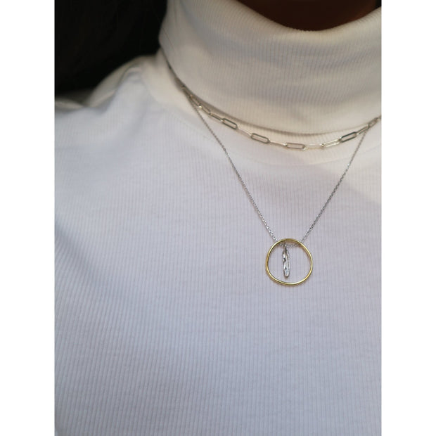 """I haven't forgotten about you, I promise"" Necklace"