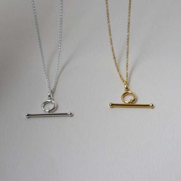 'Alberta' Bar Necklace