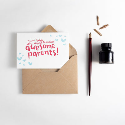 awesome parents card