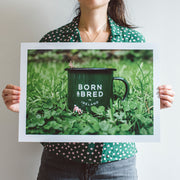 born and bred in Ireland wee Belfast print