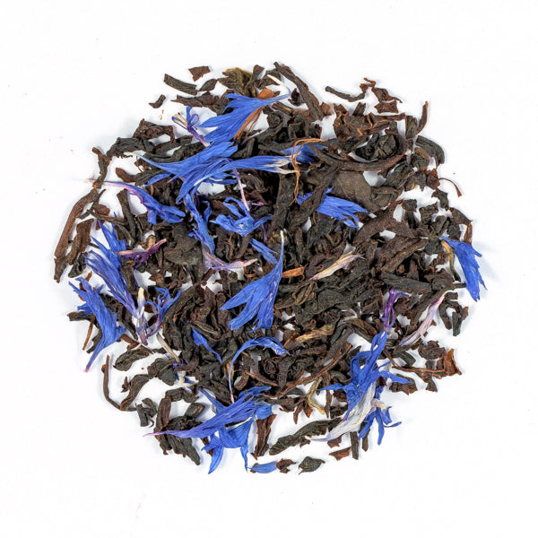 Suki Earl Grey Blue Flower