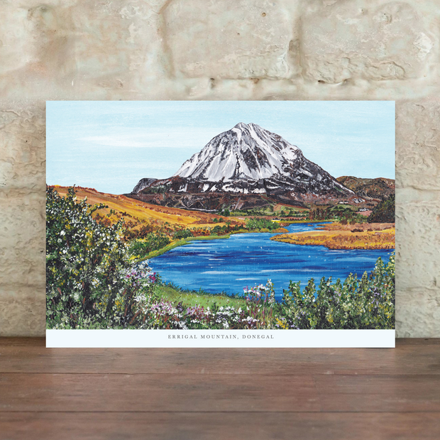 errigal mountain art print