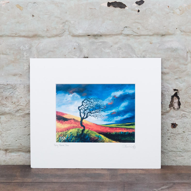 fairy throne tree print