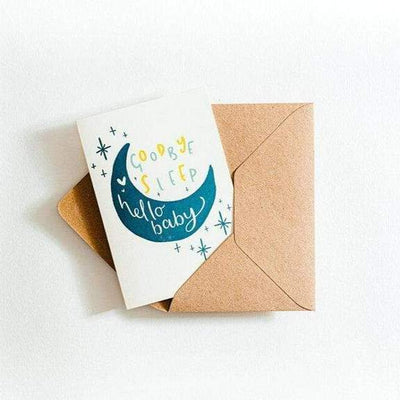 baby card recycled coffee cup