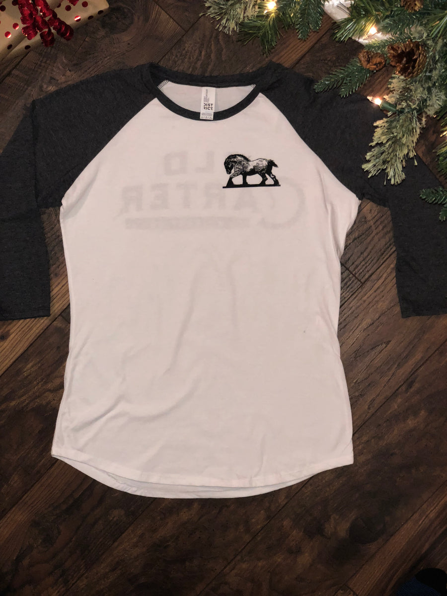 Old Carter Whiskey Co. Baseball Tee