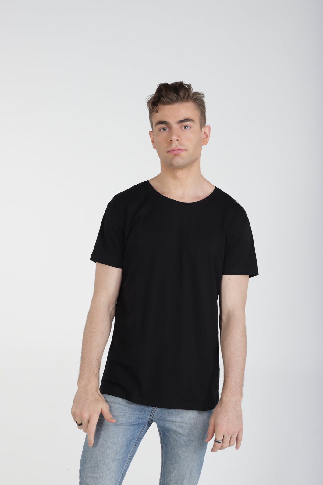 Classic Fit Bamboo Tee - Black