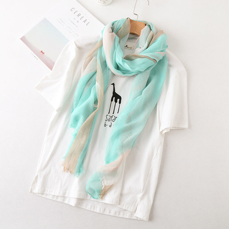 Bamboo Scarf - Mint Green