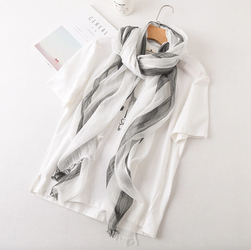Bamboo Scarf - White