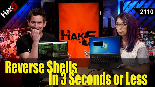 The 3 Second Reverse Shell with a USB Rubber Ducky