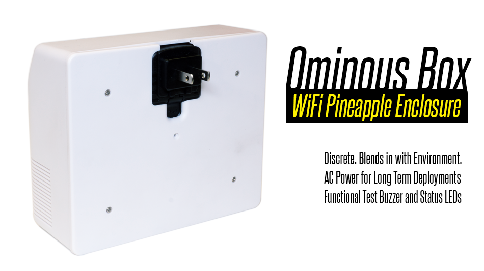 Ominous Box for WiFi Pineapple