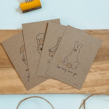 Load image into Gallery viewer, Little Big Easter Doodlets | Tiny Easter Card Set | Notecard Set | Gift tag set