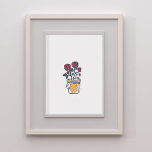 Love You Always A5 Print | Rose Print | Little Big Doodles