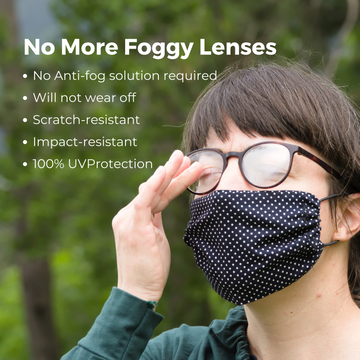 Anti Fog Lens for Single Vision RX - RX-able.com