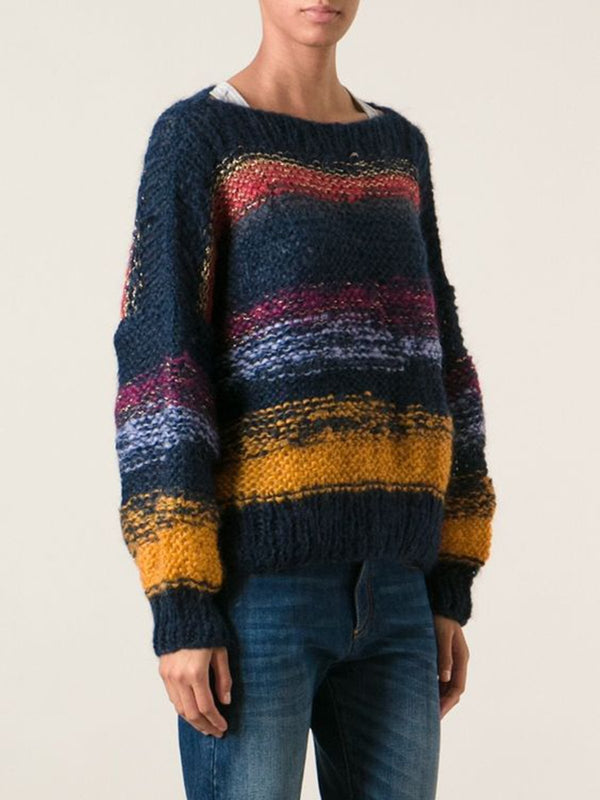 Acrylic Stripes Sweater