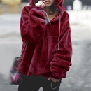 Hooded Jumper Sweater Pullover Tops Coat