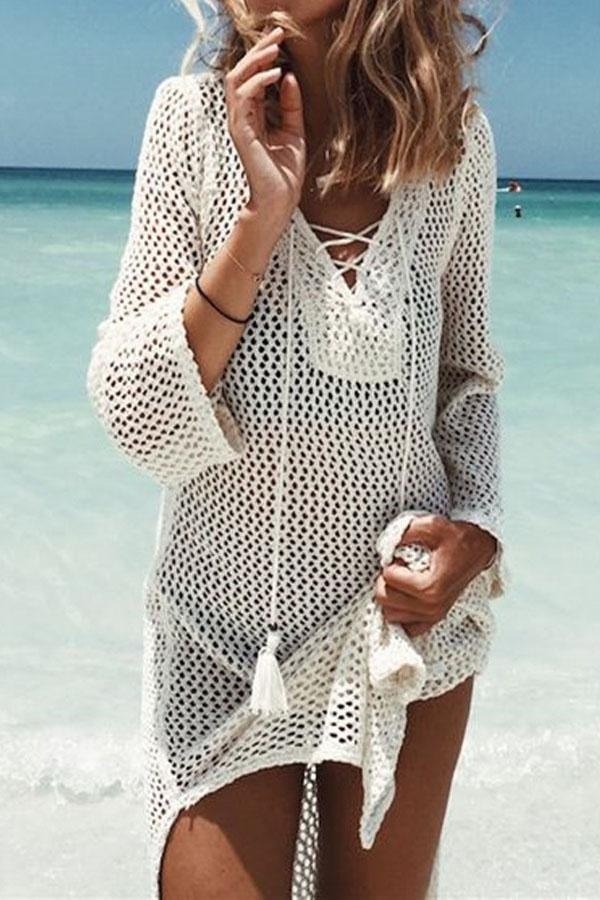 Beachsissi Long Sleeve Cover Ups