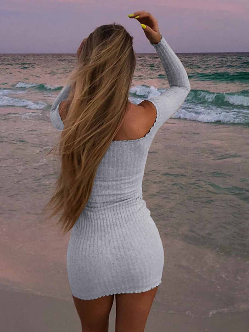 Long Sleeve Sexy Dresses