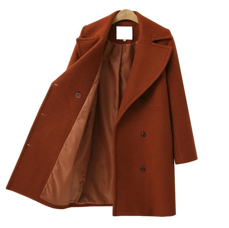 Women's Double Breasted Duffle Coat