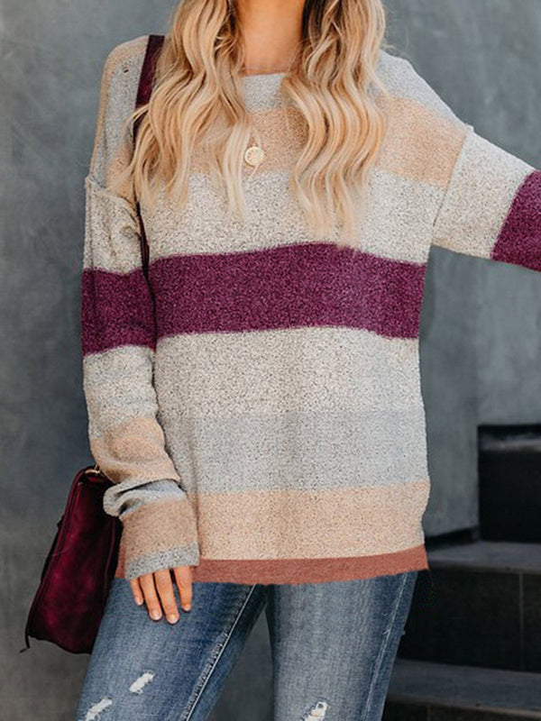 Multicolor Elegant Wear Women's Soft Pullover Sweaters
