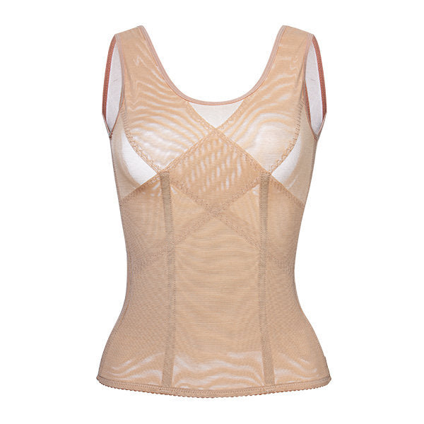 Sexy Lace Mesh Breathable Tummy Control Waist Slim Shapewear For Women