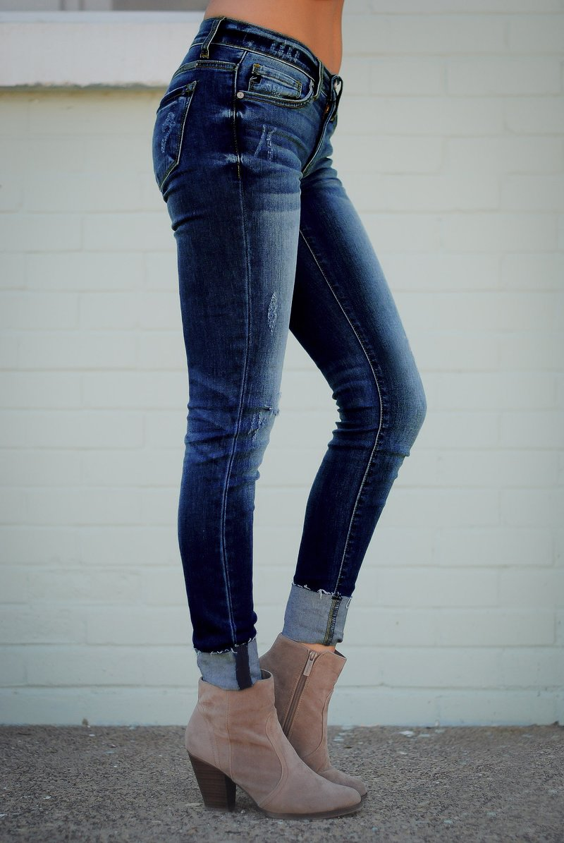 GirlOnStyle To Thine Self Be True High Waist Jeans