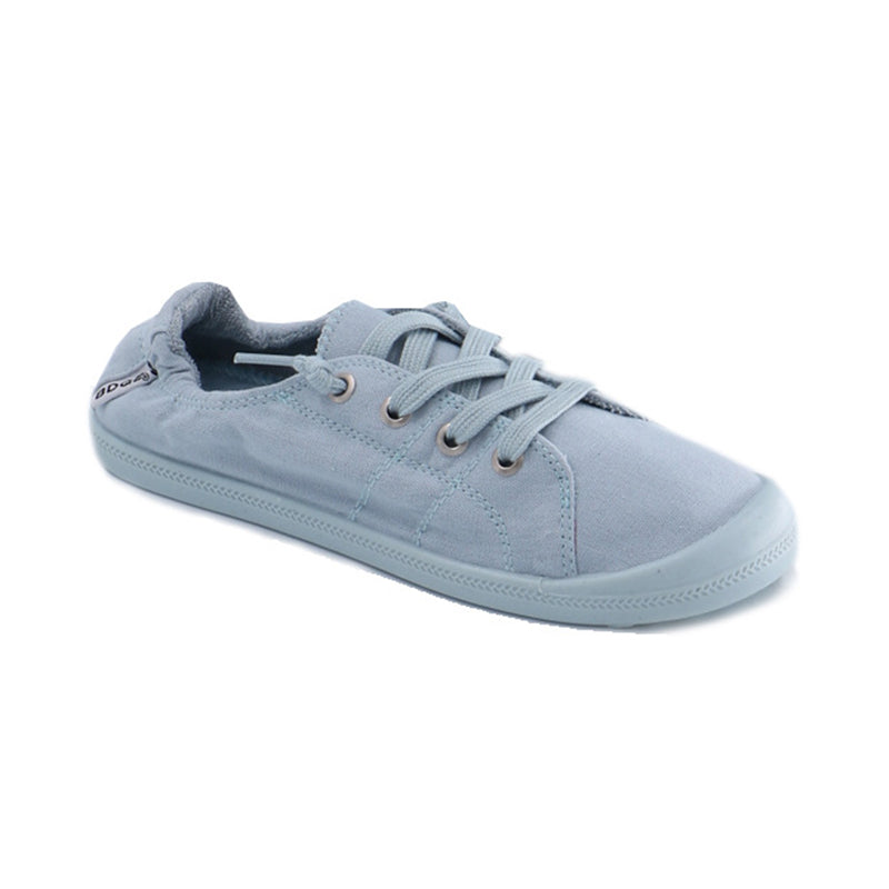 Light Color Casual Athletic Memory Foam Padded Canvas Shoes