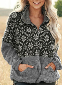 Short Pile Pullover