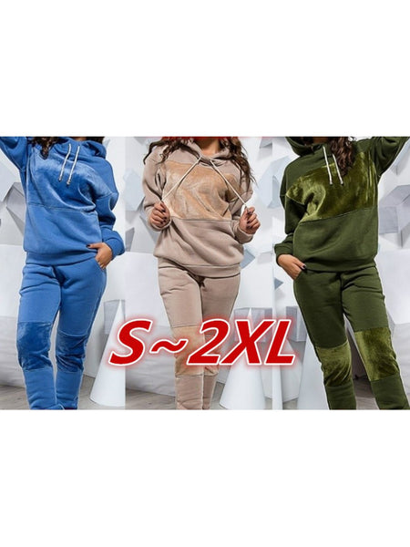 Women Paneled Warm Casual Sets