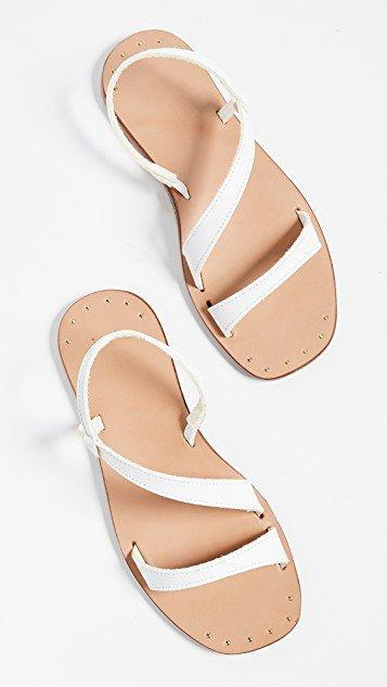 Flat Heel Concise Casual Daily Sandals