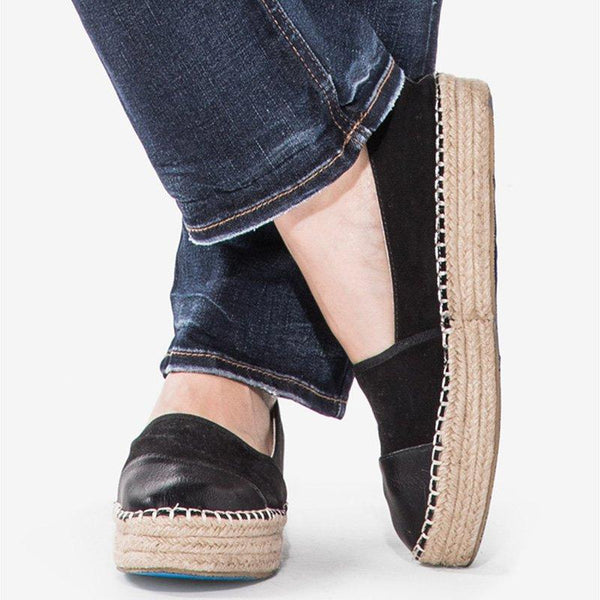 Womens Espadrilles Spring/fall Flat Heel Pu Loafers