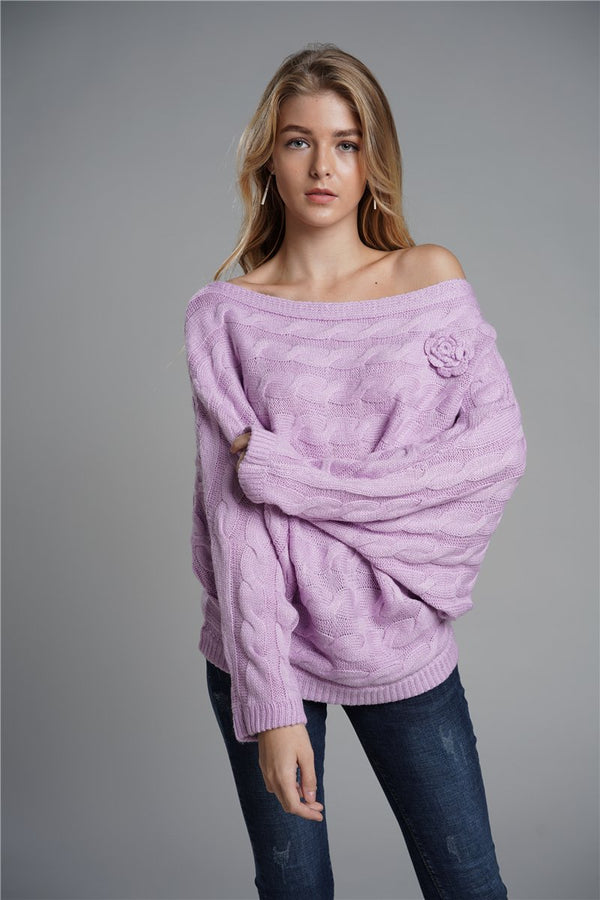 Mohair loose sweater