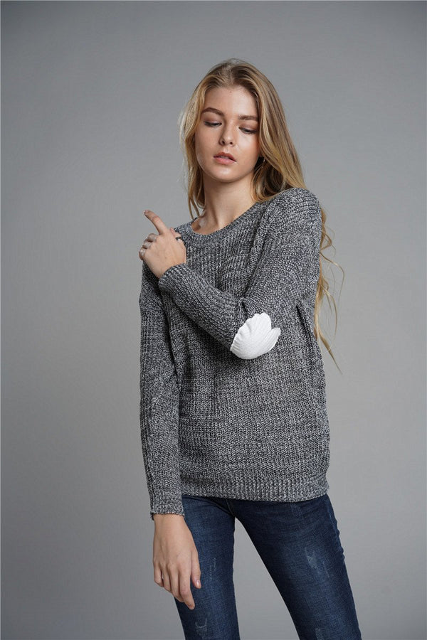 Wild Large Size OL Commuter Sweater
