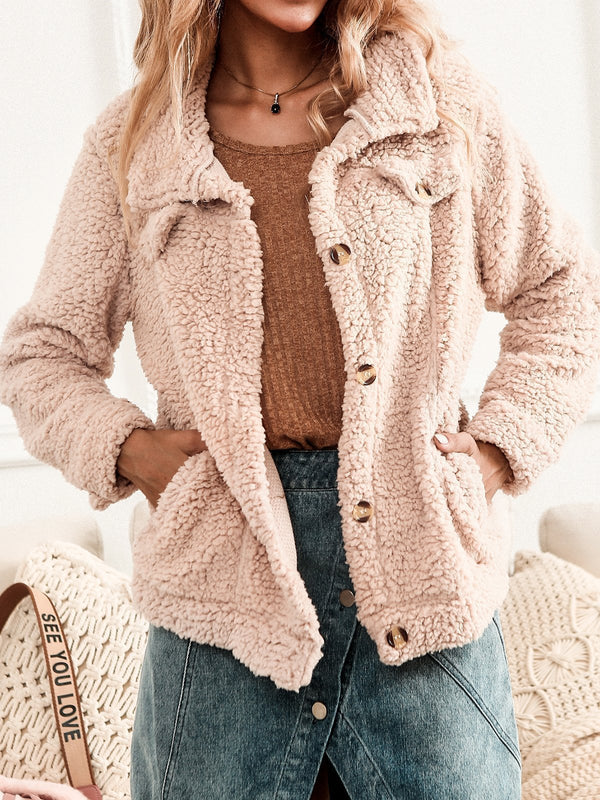 Khaki Knitted Outerwear