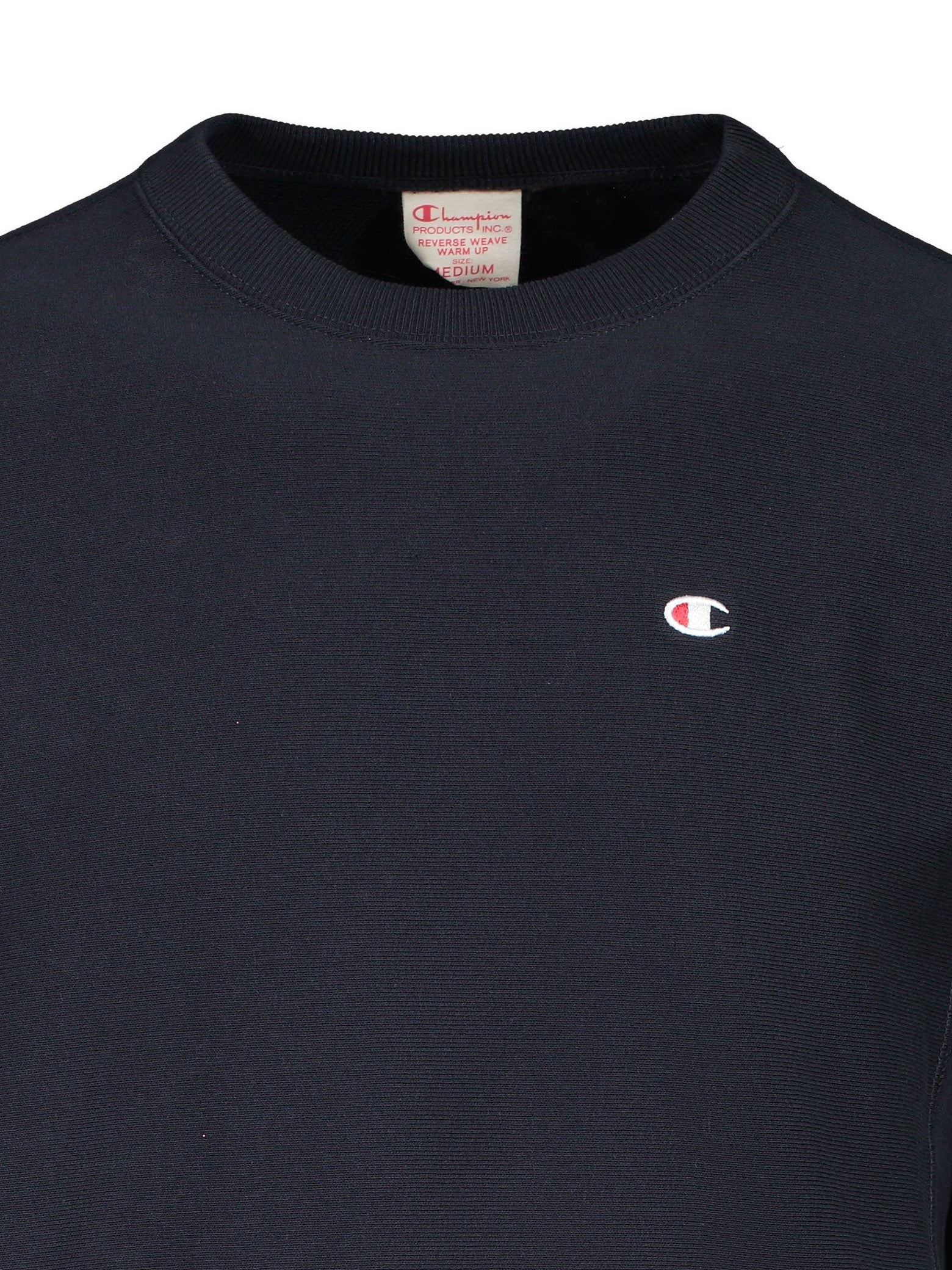 Reverse Weave Terry Crew C Patch