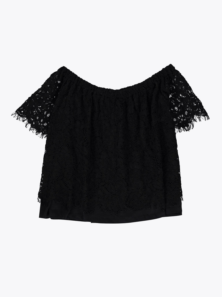 Carly Lace Off-the-Shoulder Top