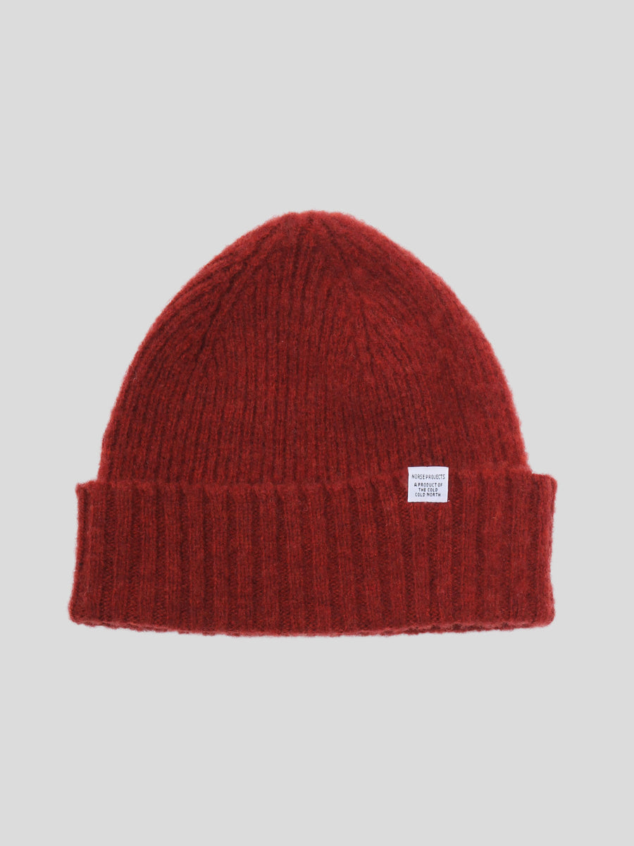Brushed Lambswool Beanie