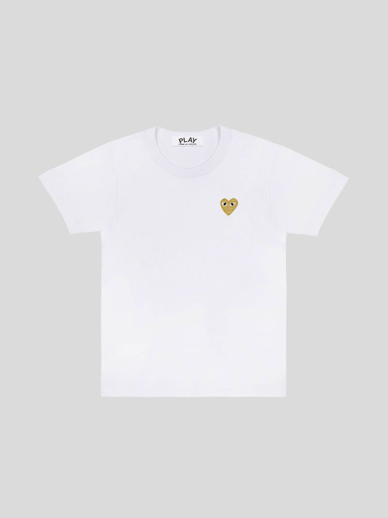 Play T-Shirt Gold Heart