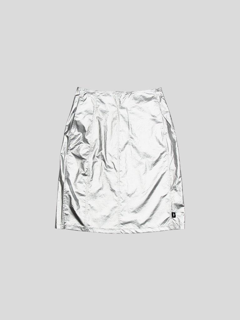 Shiny Panel Skirt