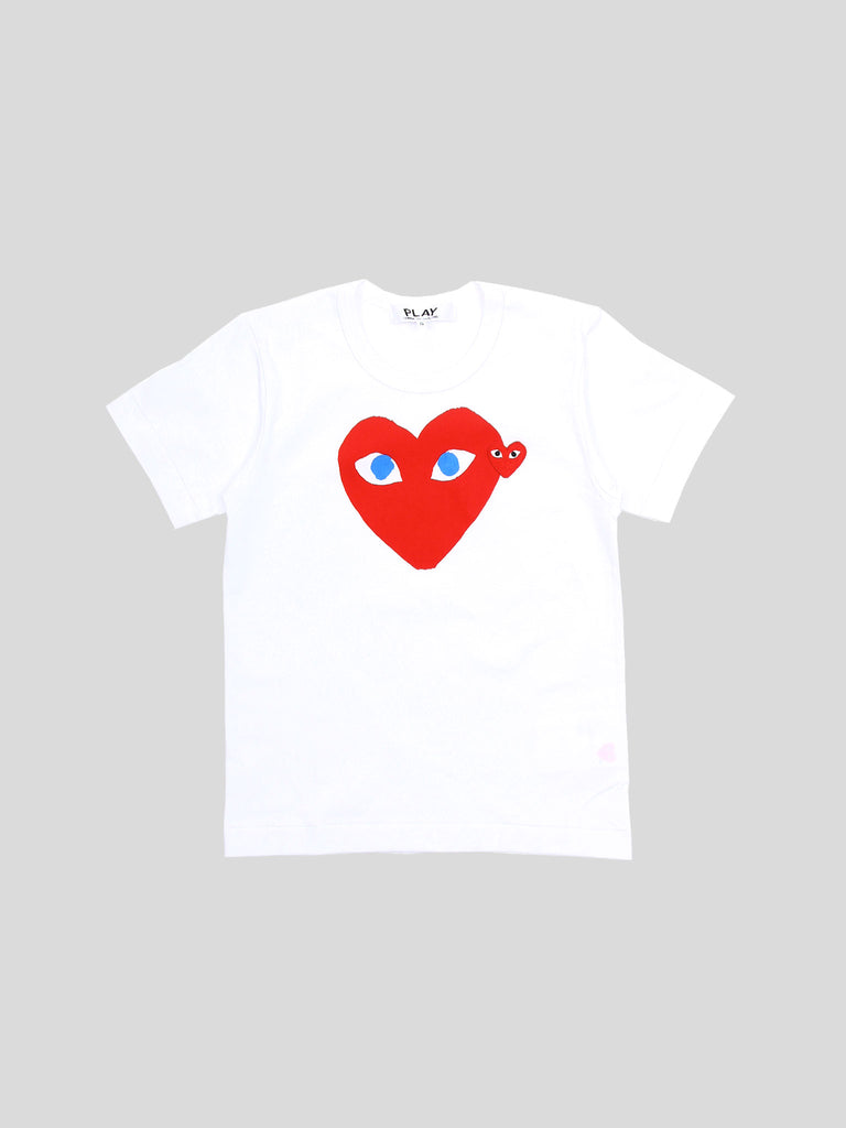 W Play T-Shirt Red Heart