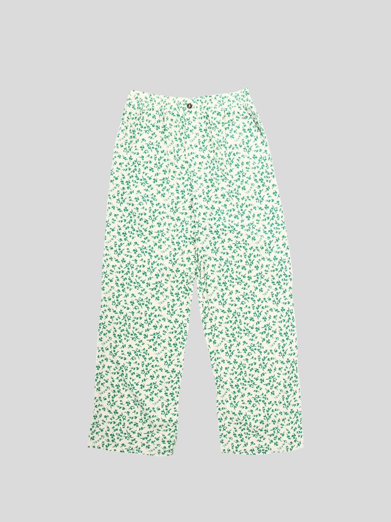 Printed Crepe Pants