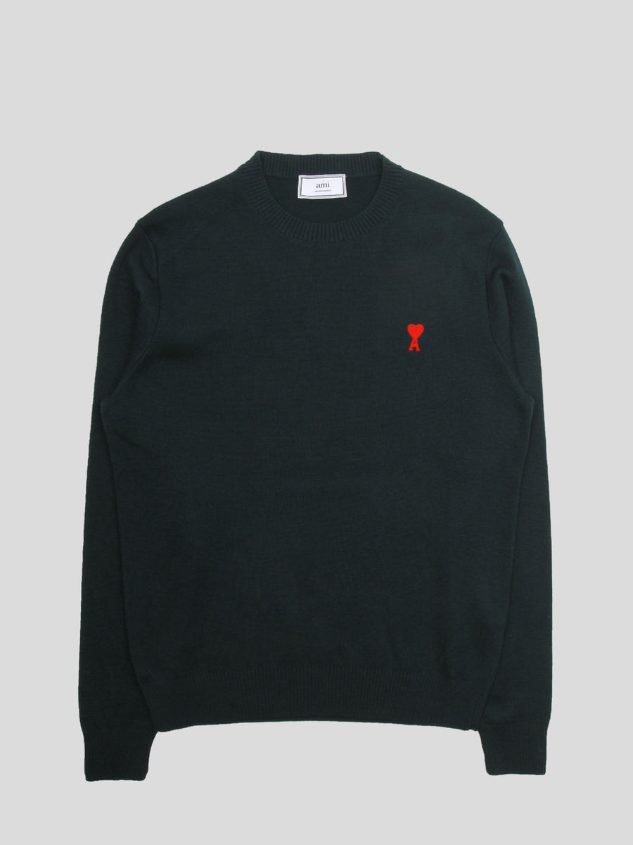 Crewneck Sweater Ami De Coeur Embroidery