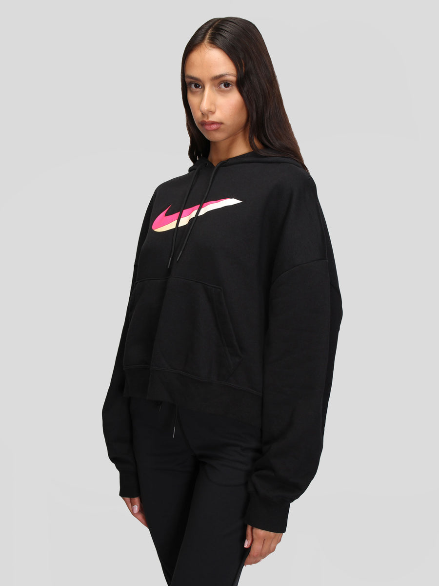 W Icon Clash Fleece Hoodie