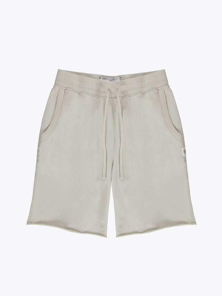 Knit Lt Wt Terry Raw Edge Sweatshort